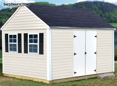 Free 10 X 12 Shed Plans