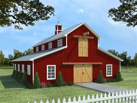 Free 2 Stall Horse Barn Plans
