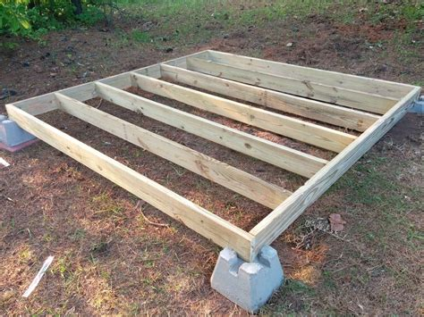 Free Floating 12x12 Deck Plans