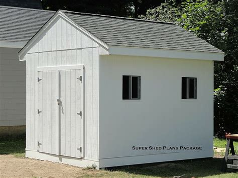 Free Gambrel Shed Plans 10x12