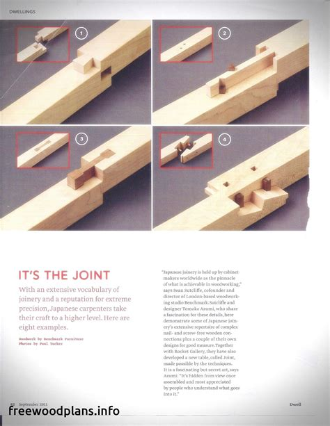 Free Japanese Woodworking Plans