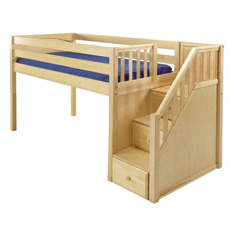 Free Loft Bed Plans With Stairs