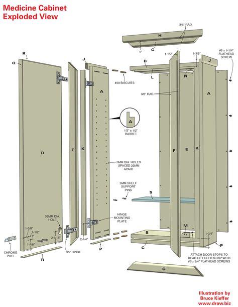 Free Medicine Cabinet Woodworking Plans