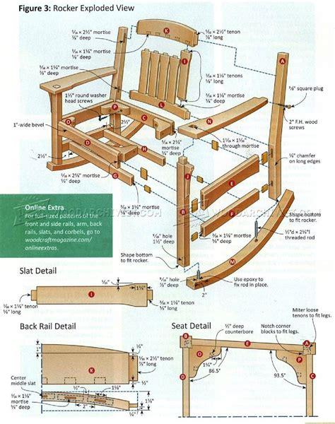 Free Rocking Chair Blueprints
