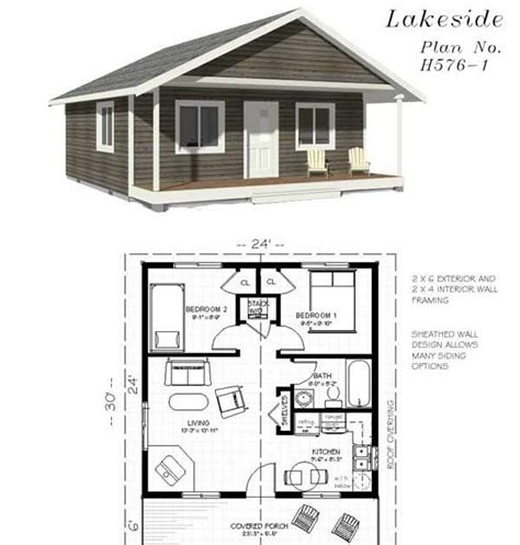 Free Small Cabin Plans With Material List