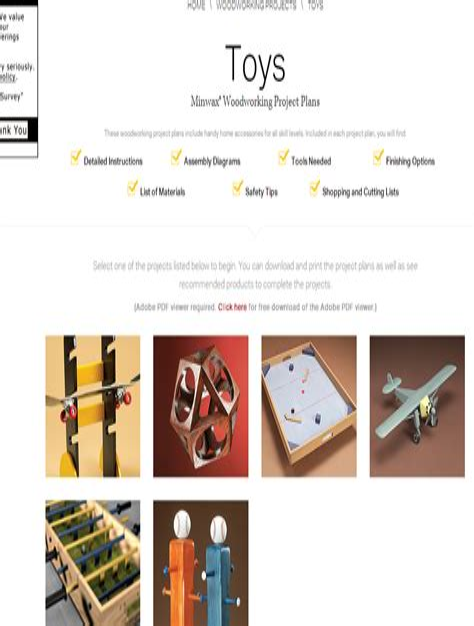 Free Wood Working