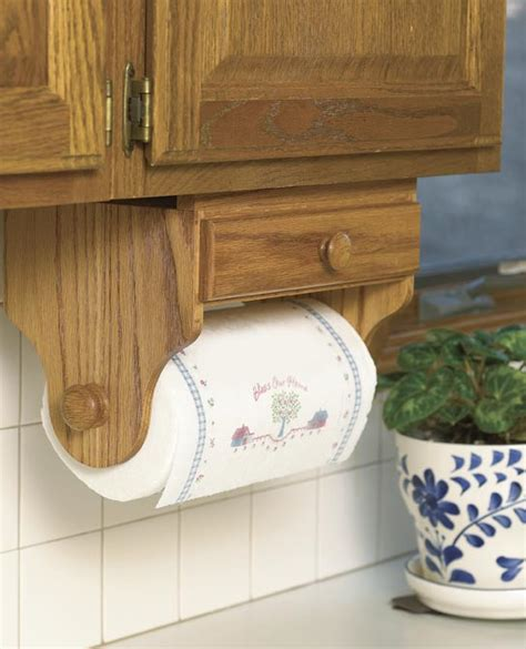 Free Woodworking Plans Paper Towel Holder