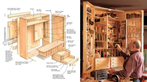 Free Woodworking Tool Cabinet Plans