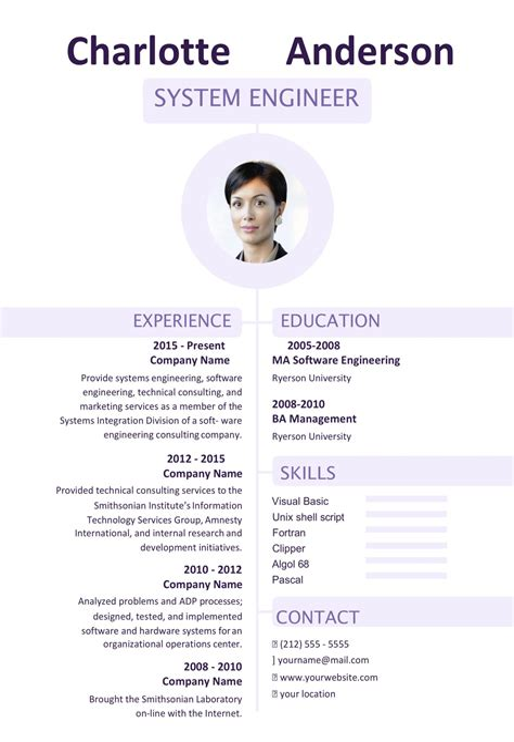 best resume format australia