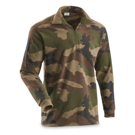 Army-Surplus French Army Surplus Fleece.