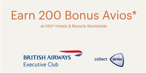 Credit Card Avios Bonus Frequent Flyer Bonuses British Airways Executive Club