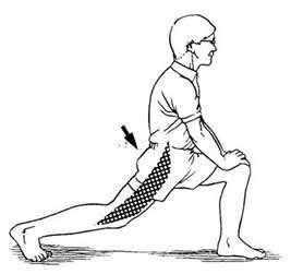 front hip flexor exercises after hip operation get well cards