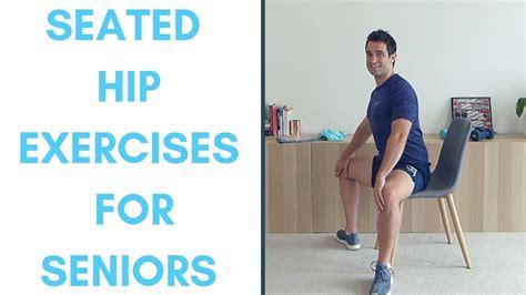 front hip flexor exercises youtube for seniors