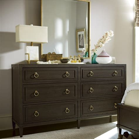 Frye 6 Drawer Combo dresser with Mirror