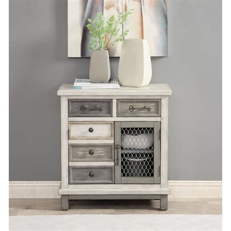 Fugate 2 Drawer Accent Cabinet