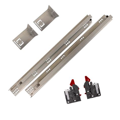 Full Extension Soft Close Undermount Drawer Slides