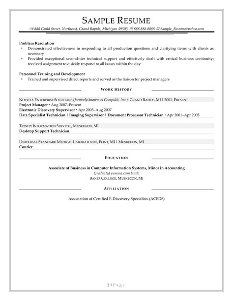 functional resume opening paragraph case study community services