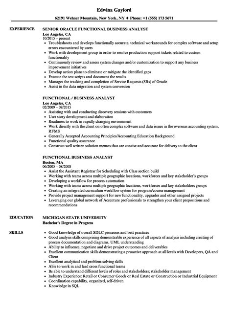 functional resume example business analyst business analyst resume sample writing guide rg - Resume Examples Business Analyst