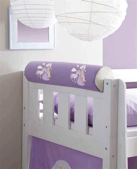 Funktions Kissen Nackenrolle Prinzessin Pink Für Hochbett Spielbett