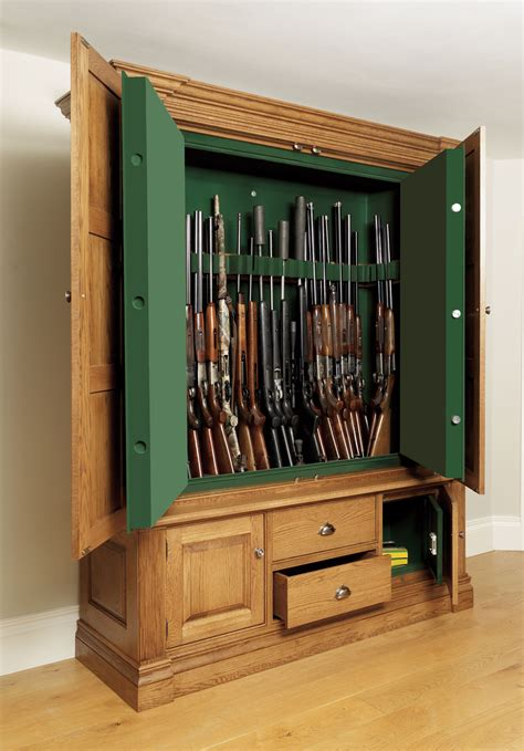 furniture gun safe hidden