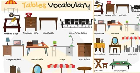 Furniture Design Names