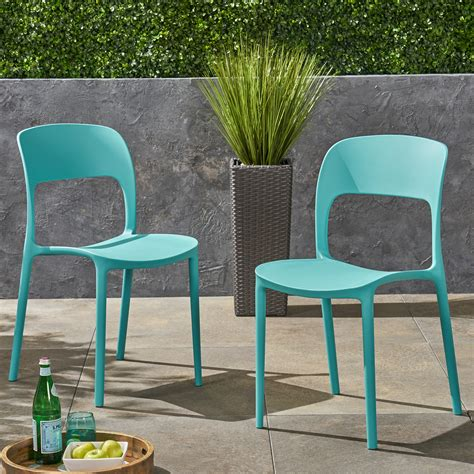 Futch Plastic Dining Chair (Set of 2)