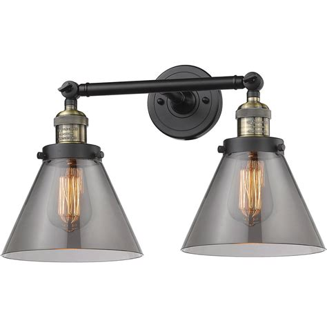 Futurist 2-Light Bathroom Vanity Light