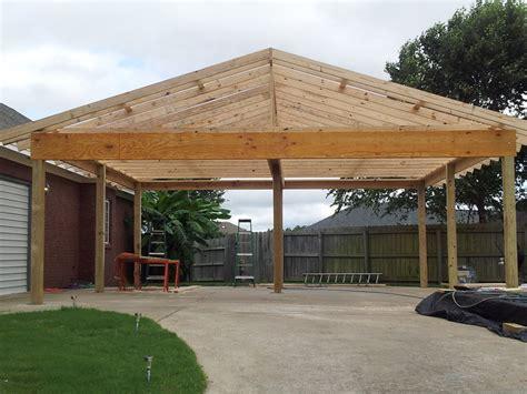 Gable Roof Carport Plans