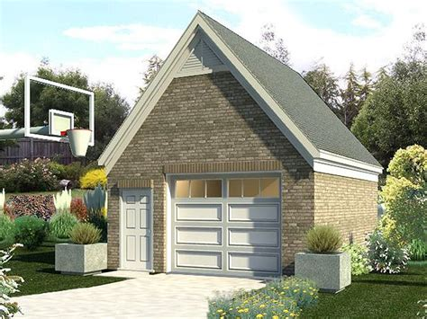 Gable Roof Garage Plans