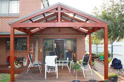 Gable Roof Pergola Plans