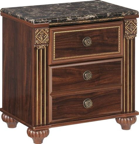 Gabriela 2 Drawer Nightstand