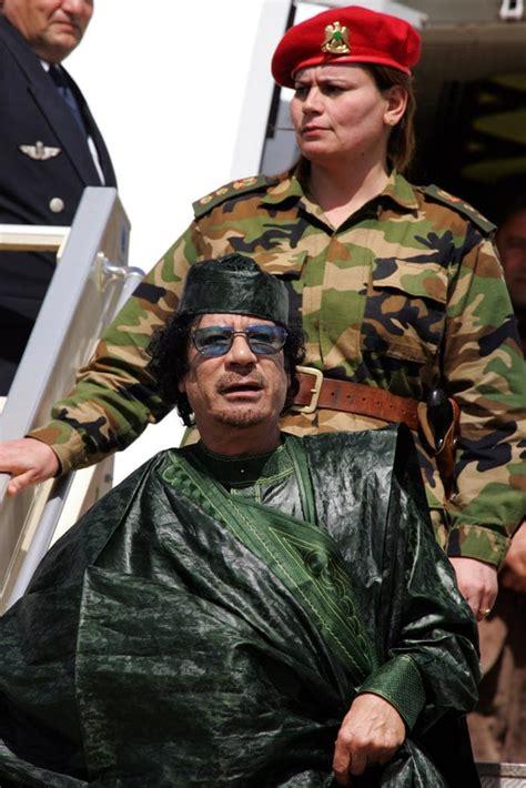 Bodyguard Gaddafi Female Bodyguards.