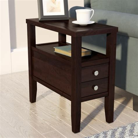 Gahagan End Table With Storage