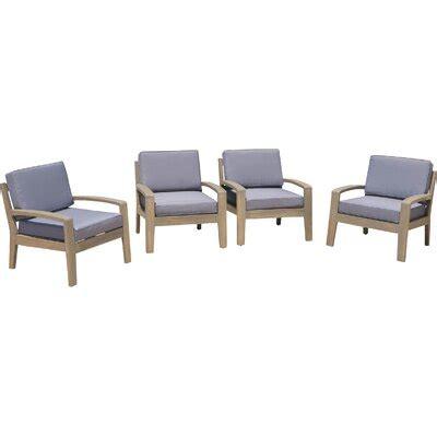 Gaia Wooden Armchair (Set of 4)