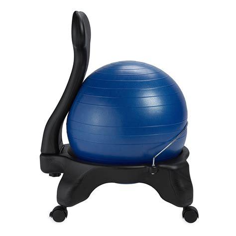 gaiam exercise ball chair reviews