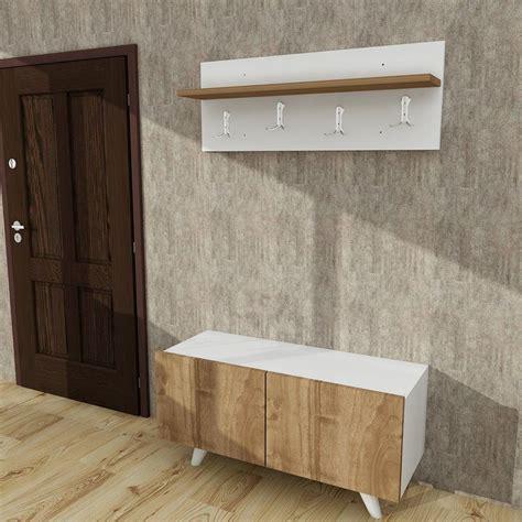 Galeana Modern Wall Mounted Coat Rack