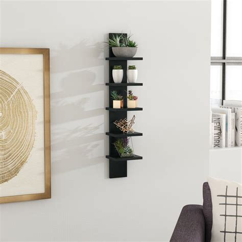Gammons Utility Column Spine Wall Shelf
