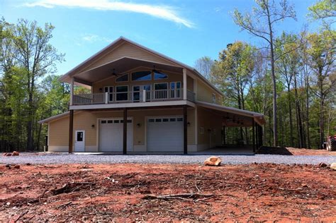 Garage On Bottom House On Top Plans