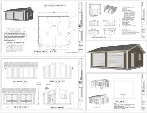 Garage Plans Dwg