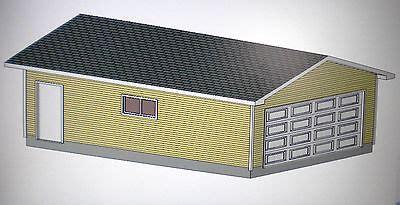 Garage Plans Permit Ready Blueprints