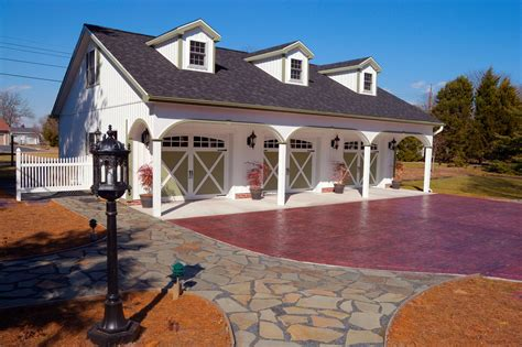 Garage Plans With Carport In Front