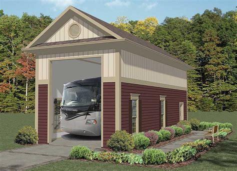 Garage Plans With Rv Storage