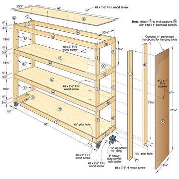 Garage Storage Woodworking Plans