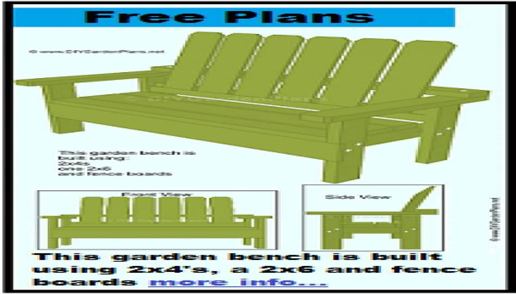 Garden Bench Plans Pdf