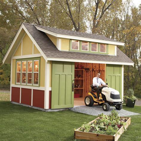Garden Shed Building