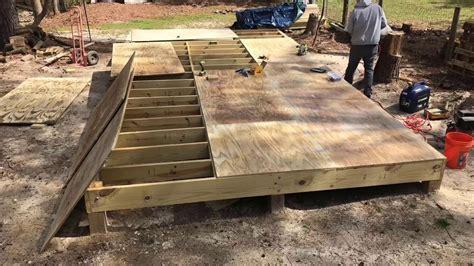 Garden Shed Floor