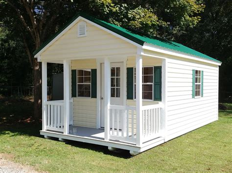 Garden Shed Plans With Porch
