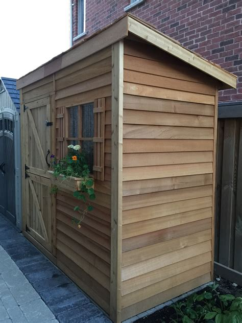 Garden Shed With Lean To