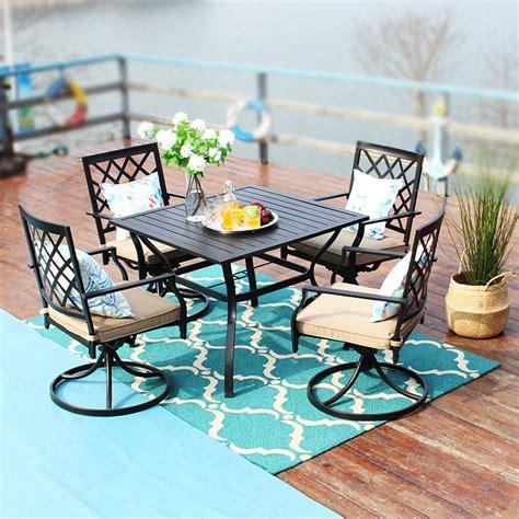 Garden Table Chair Set