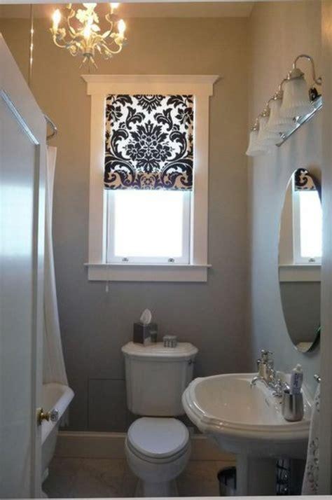 Gardinen Badezimmer Ideen